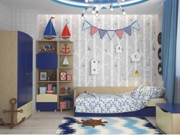 Детский гарнитур Капитошка в цвете Синяя Шагрень