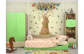 Детский гарнитур Капитошка в цвете Эвкалипт