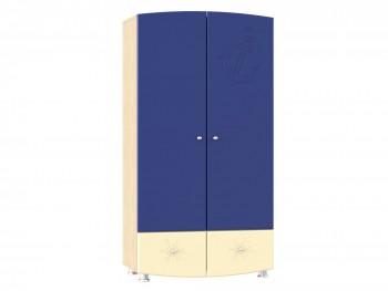 Распашной шкаф Капитошка в цвете Синяя Шагрень