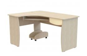 Компьютерный стол Капитошка в цвете Эвкалипт