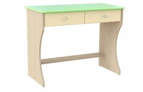 Письменный стол Капитошка в цвете Эвкалипт