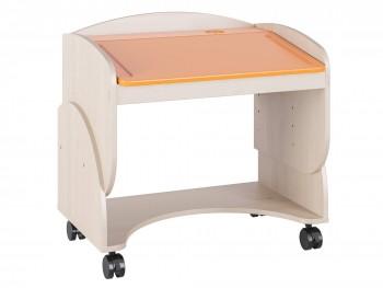 Письменный стол Маугли в цвете Оранж Глянец