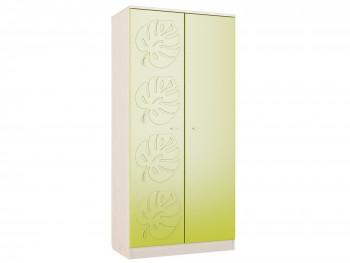 Распашной шкаф Маугли в цвете Лайм Глянец