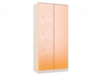 Распашной шкаф Маугли в цвете Оранж Глянец