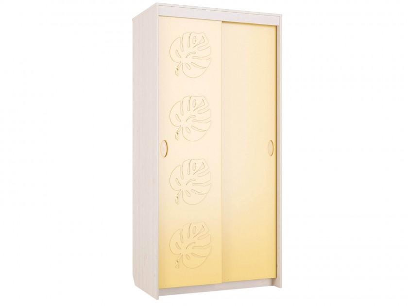цена на шкаф-купе Шкаф-купе Маугли Маугли в цвете Желтый Глянец
