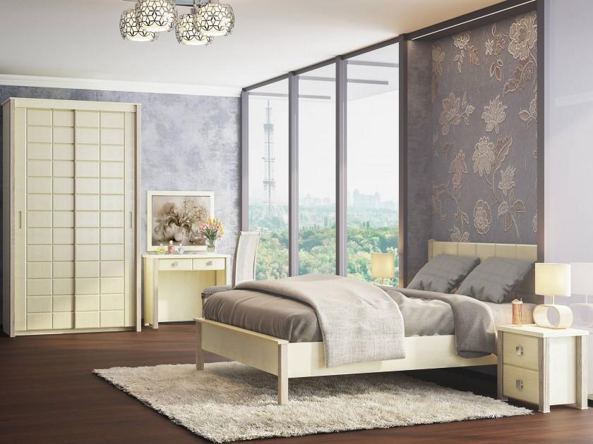 спальный гарнитур Спальня Изабель Изабель в цвете Клен