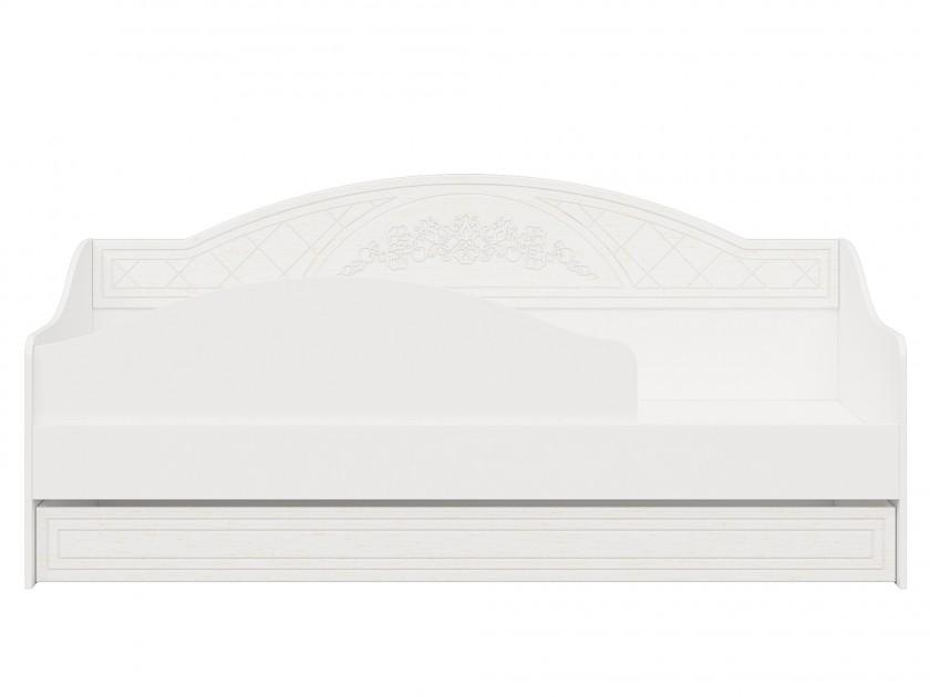 Фото - кровать Кровать Соня Премиум с бортиком (80х200) Соня Премиум в цвете Патина Ясень распашной шкаф стеллаж соня премиум правый соня премиум в цвете патина ясень