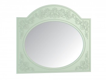 Зеркало Соня в цвете Мята Шагрень