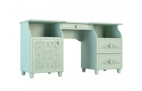 Письменный стол Соня в цвете Мята Шагрень