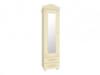 Распашной шкаф Пенал с зеркалом Ассоль