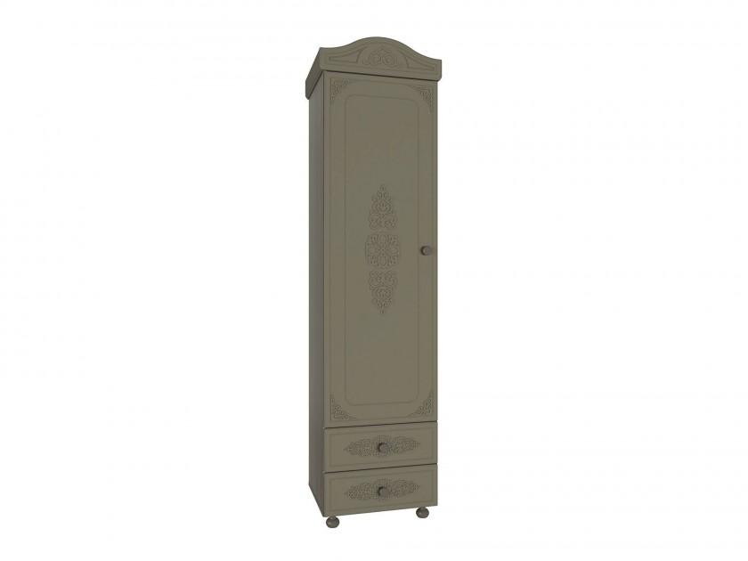 распашной шкаф Пенал Ассоль Ассоль Плюс в цвете Грей