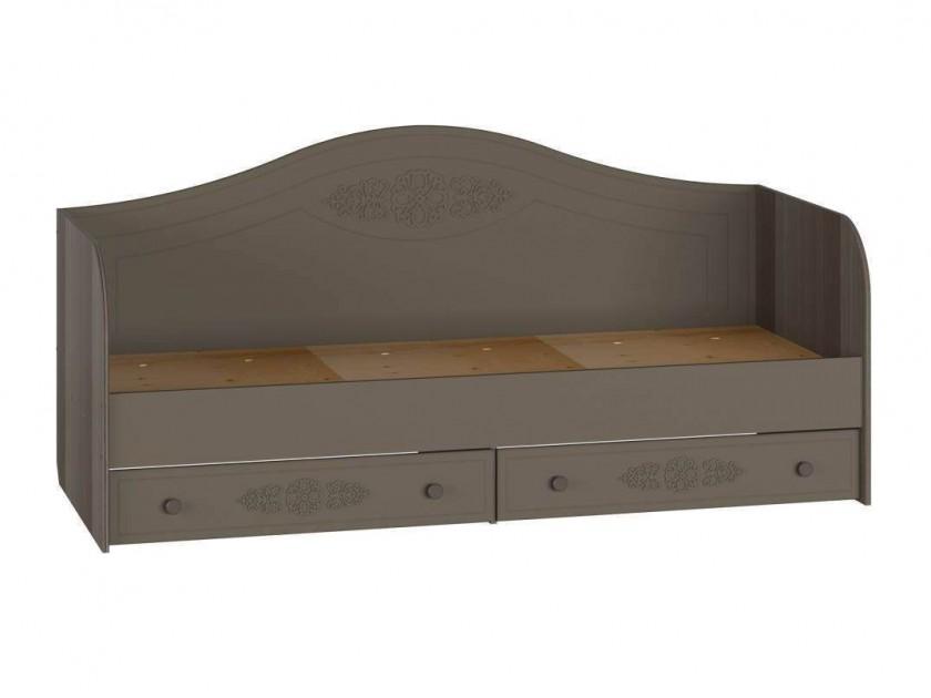 кровать Кровать Ассоль Плюс с бортиком (80х200) Ассоль Плюс в цвете Грей
