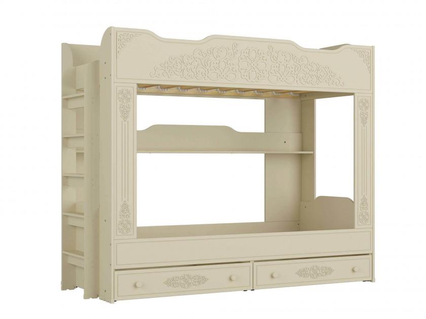 кровать Кровать двухъярусная Ассоль Плюс (90х200) Ассоль Плюс в цвете Ваниль кровать compass ас 11 ваниль 160
