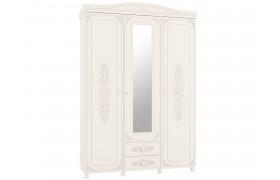 Распашной шкаф Ассоль в цвете Белый