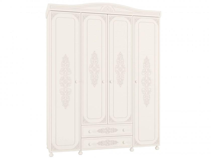 распашной шкаф Шкаф комбинированный Ассоль Ассоль в цвете Белый