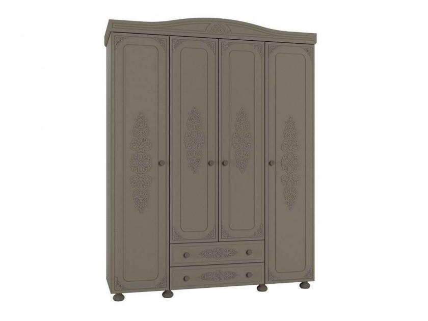 распашной шкаф Шкаф комбинированный Ассоль Плюс Ассоль Плюс в цвете Грей
