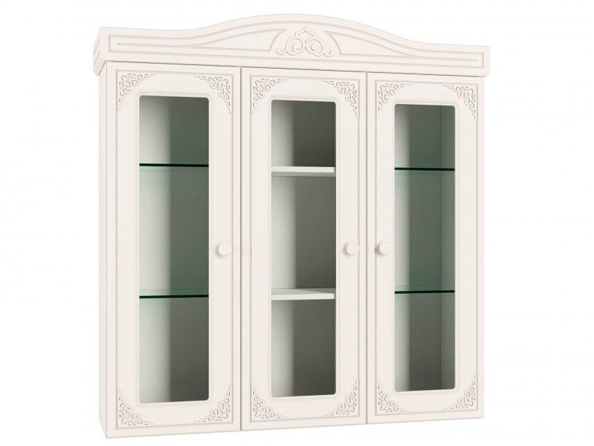 шкаф для кухни Шкаф-Витрина Ассоль Ассоль в цвете Белый