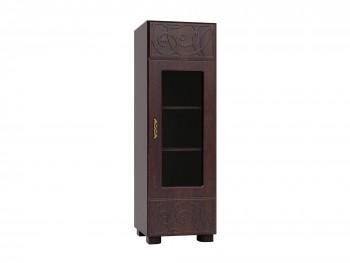 Распашной шкаф Легенда в цвете Орех с Патиной
