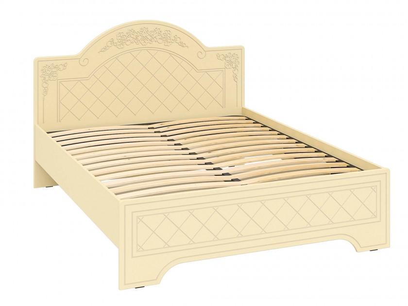кровать Кровать Соня (160х200) Соня в цвете Ваниль Шагрень
