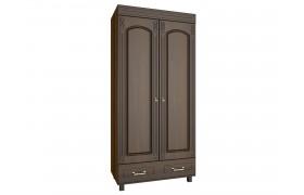Распашной шкаф Элизабет в цете Орех Темный
