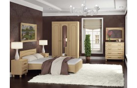 Спальный гарнитур Элизабет в цвете Клен