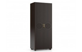 Распашной шкаф Монблан в цвете Орех Шоколадный