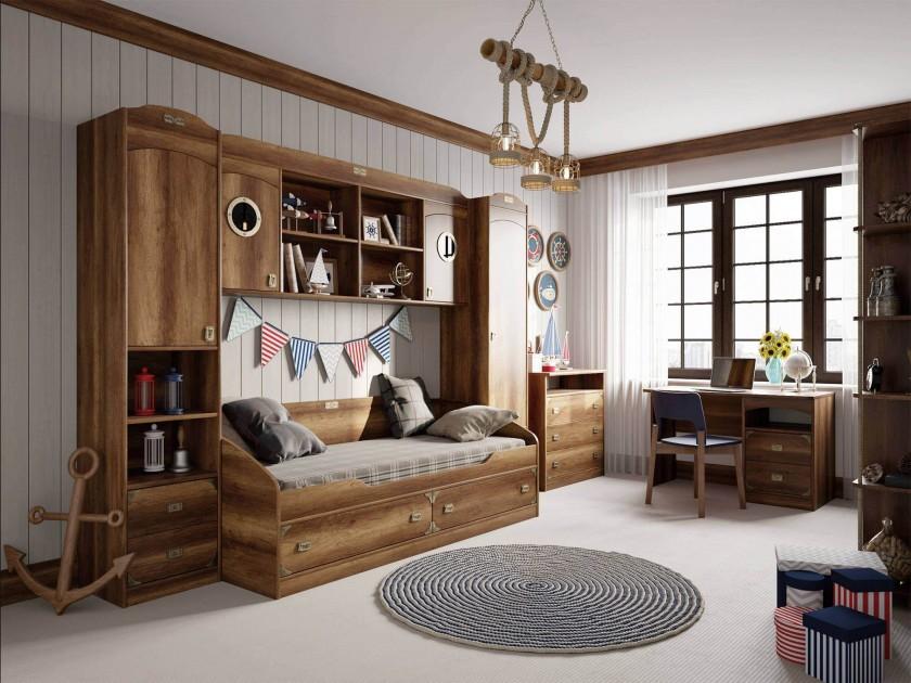 цена на детский гарнитур Набор мебели для детской комнаты Навигатор Навигатор