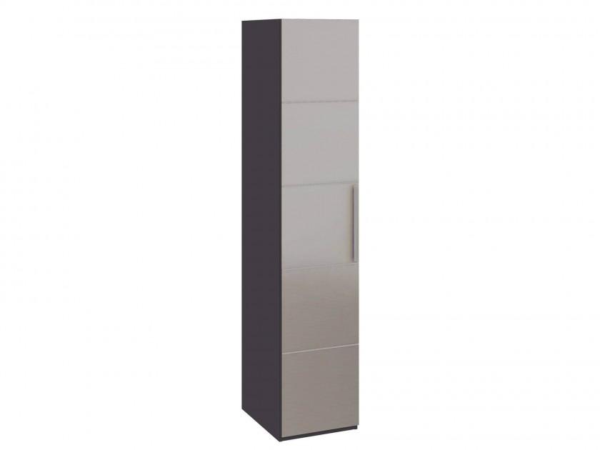 Фото - распашной шкаф Шкаф для белья с 1 дверью с зеркалом L Наоми Наоми шкаф распашной мф мастер шкаф угловой с зеркалом шуз