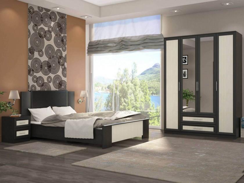 спальный гарнитур Спальня Юлианна Юлианна в цвете Дуб феррара